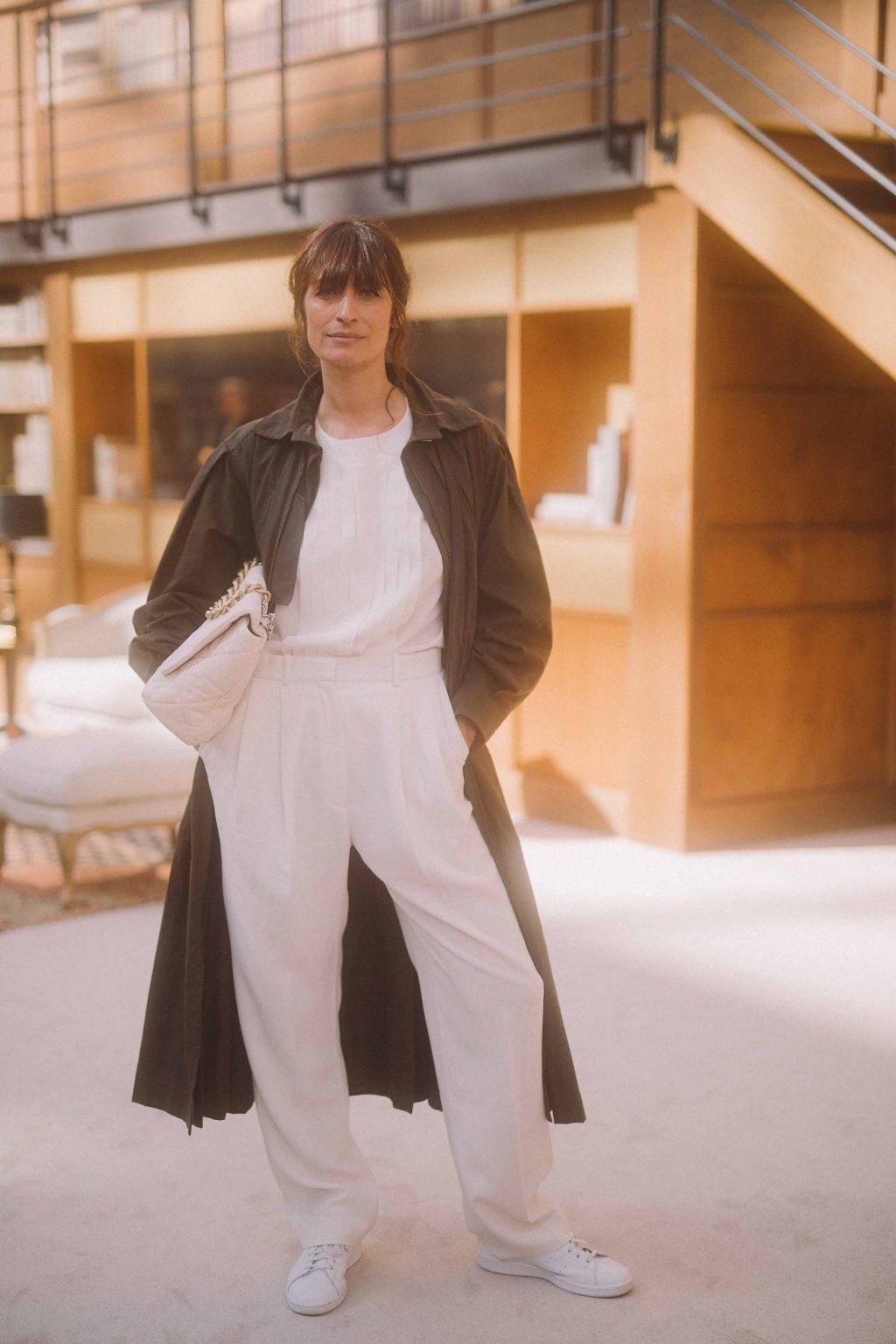 Caroline De Maigret tham dự buổi trình diễn CHanel Haute Couture Thu Đông 2019