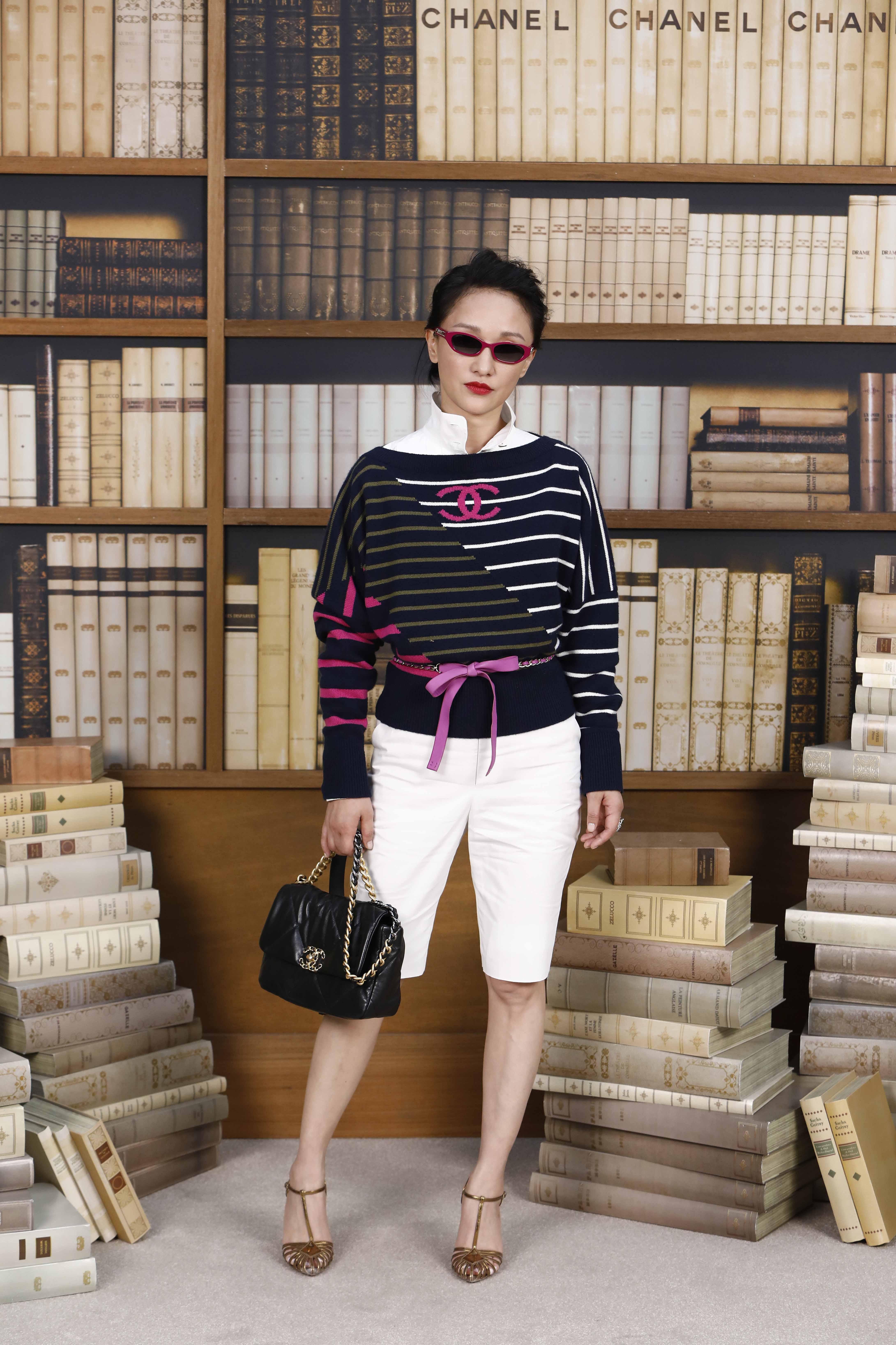 châu tấn tham dự buổi trình diễn CHanel Haute Couture Thu Đông 2019