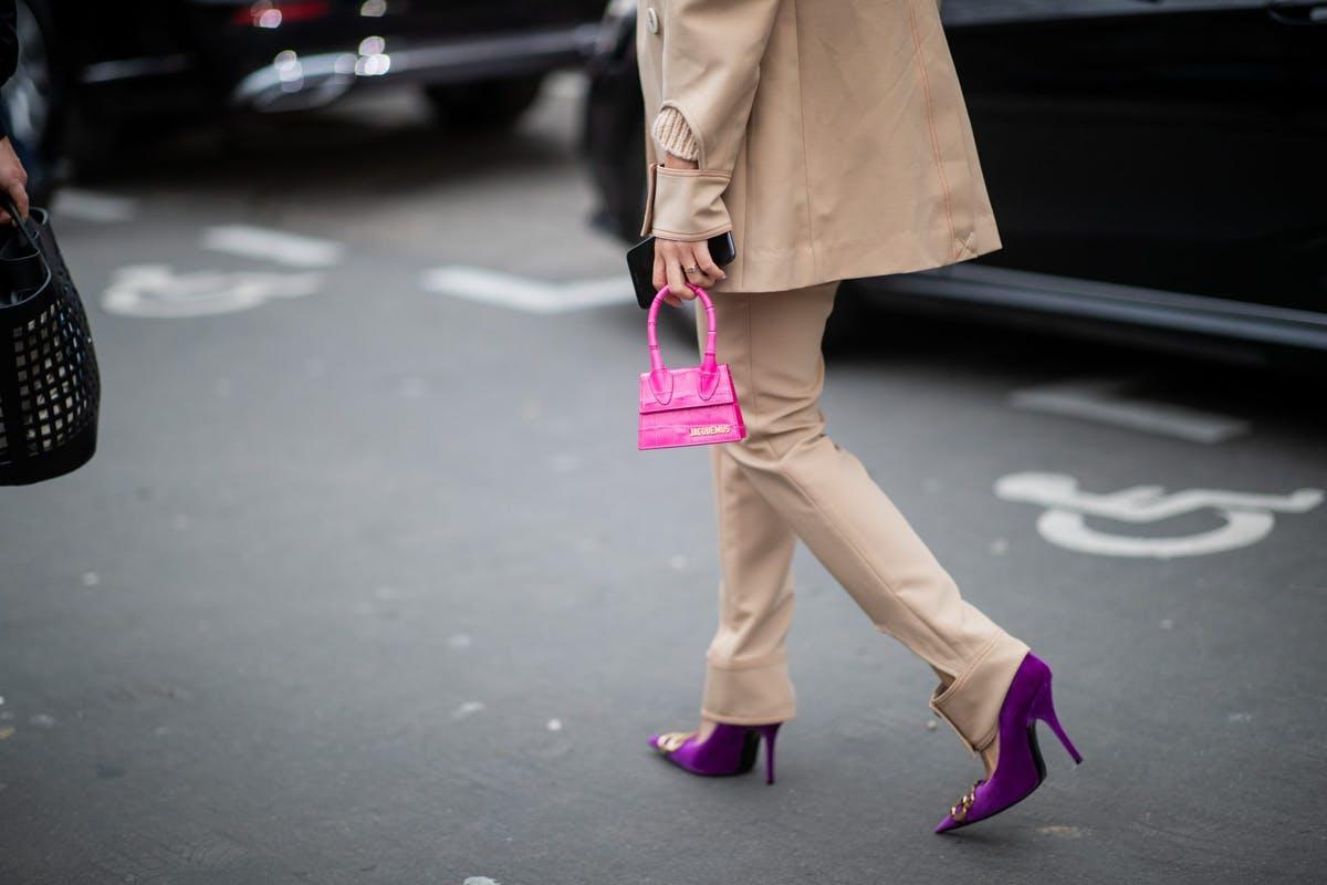 túi xách siêu nhỏ jacquemus le chiquito bag tuần lễ thời trang paris