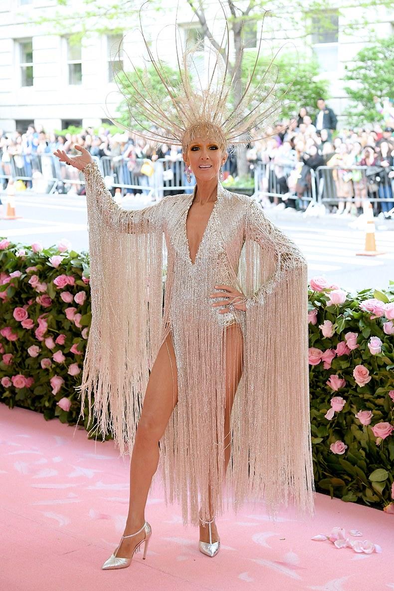 Céline Dion tại thảm đỏ Met Gala 2019