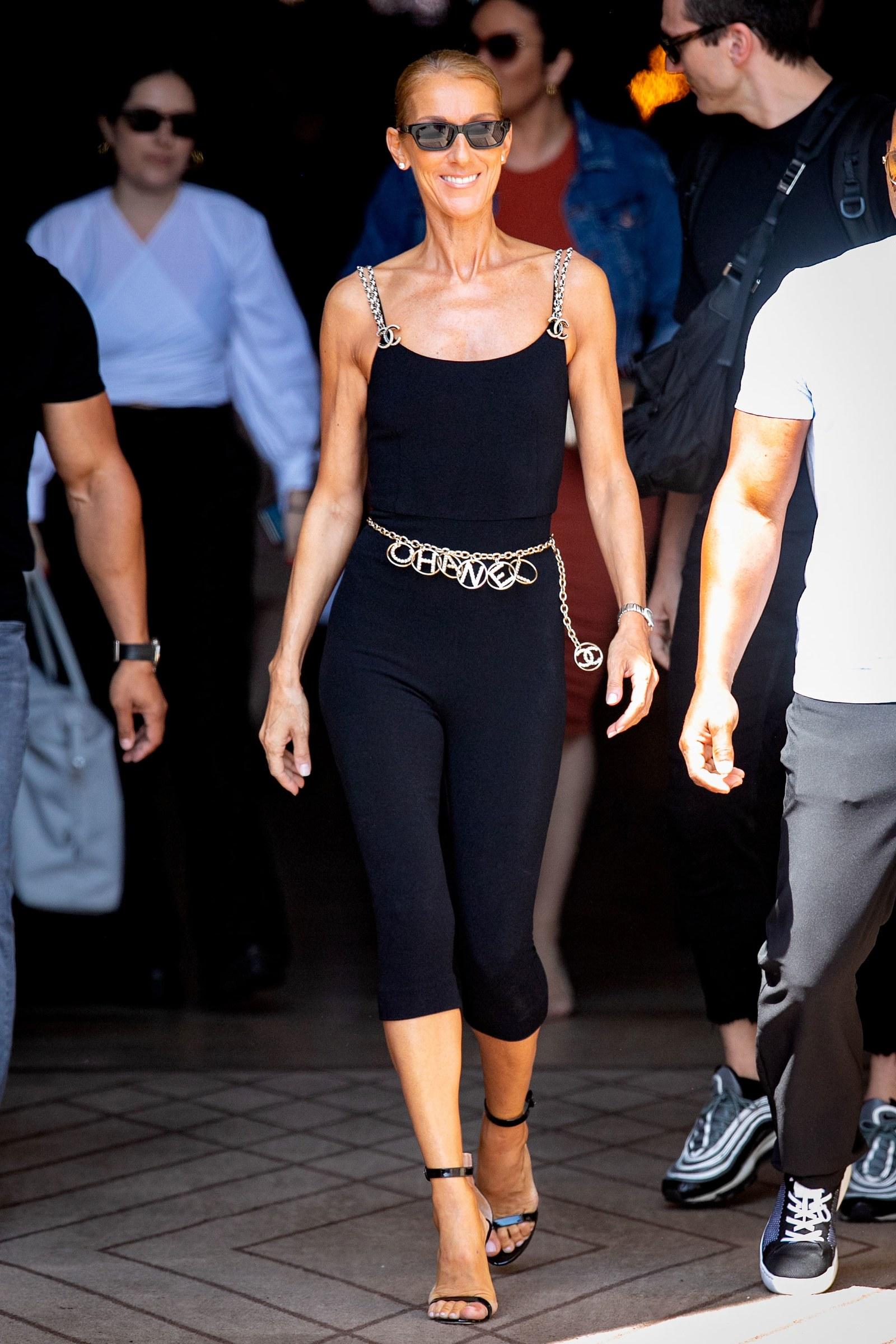 thời trang của Céline Dion Paris Haute Coutrue 2019