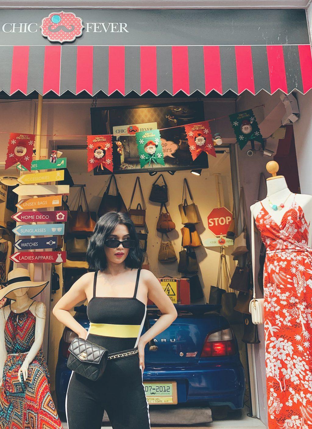 mua sắm singapore cùng sĩ thanh tại haji lane