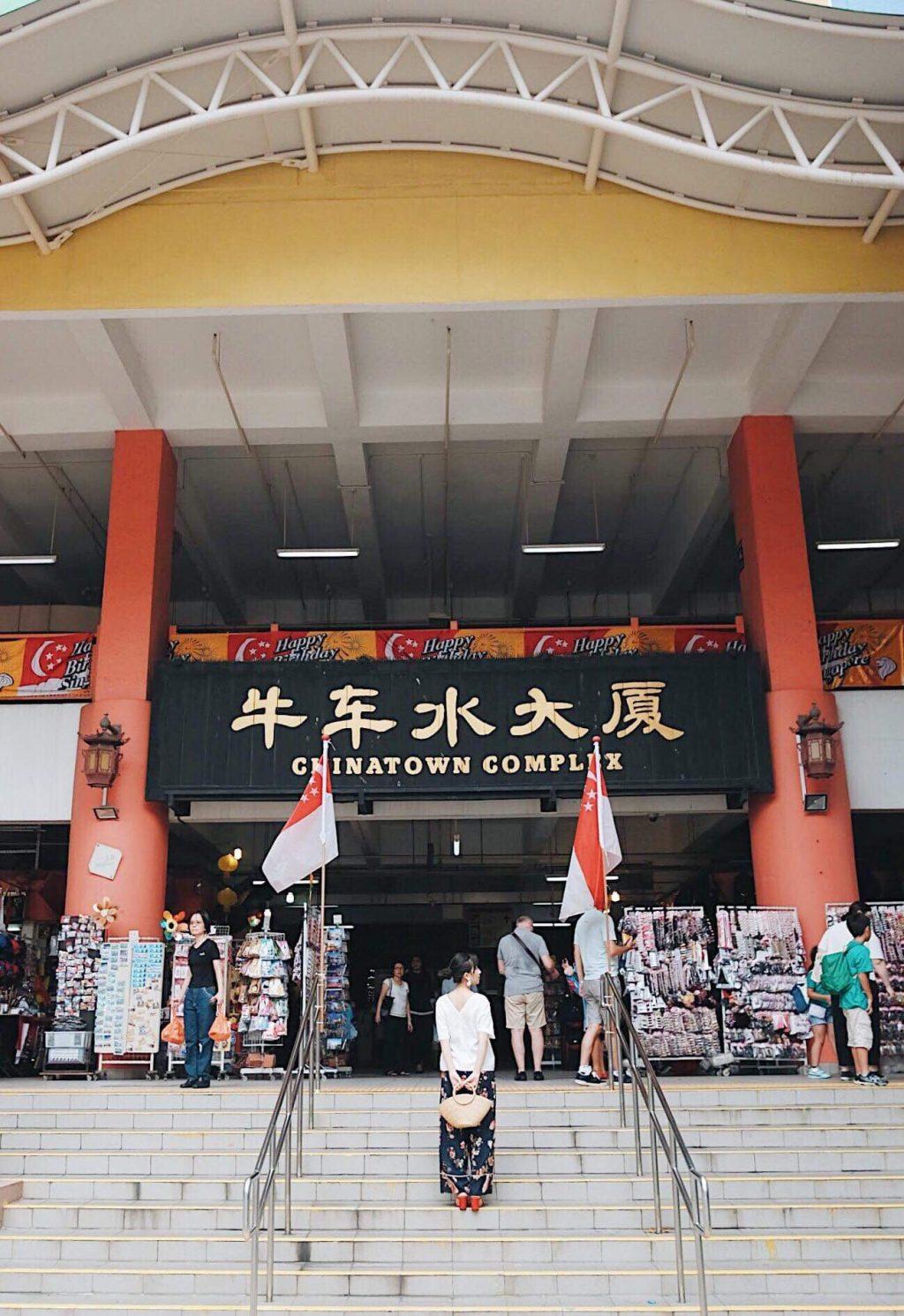 mua sắm singapore cùng trang olive tại chinatown