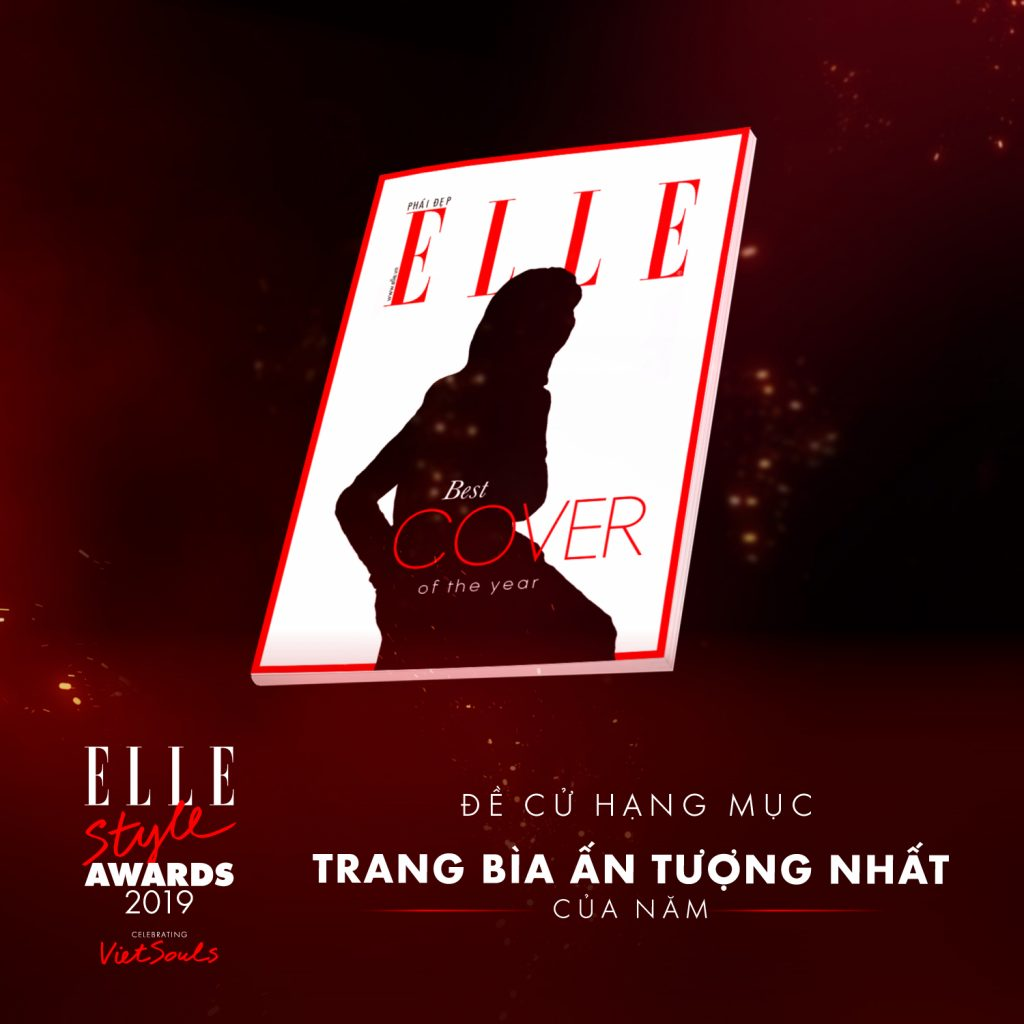 ELLE Style Awards 2019 - hạng mục trang bìa ấn tượng nhất
