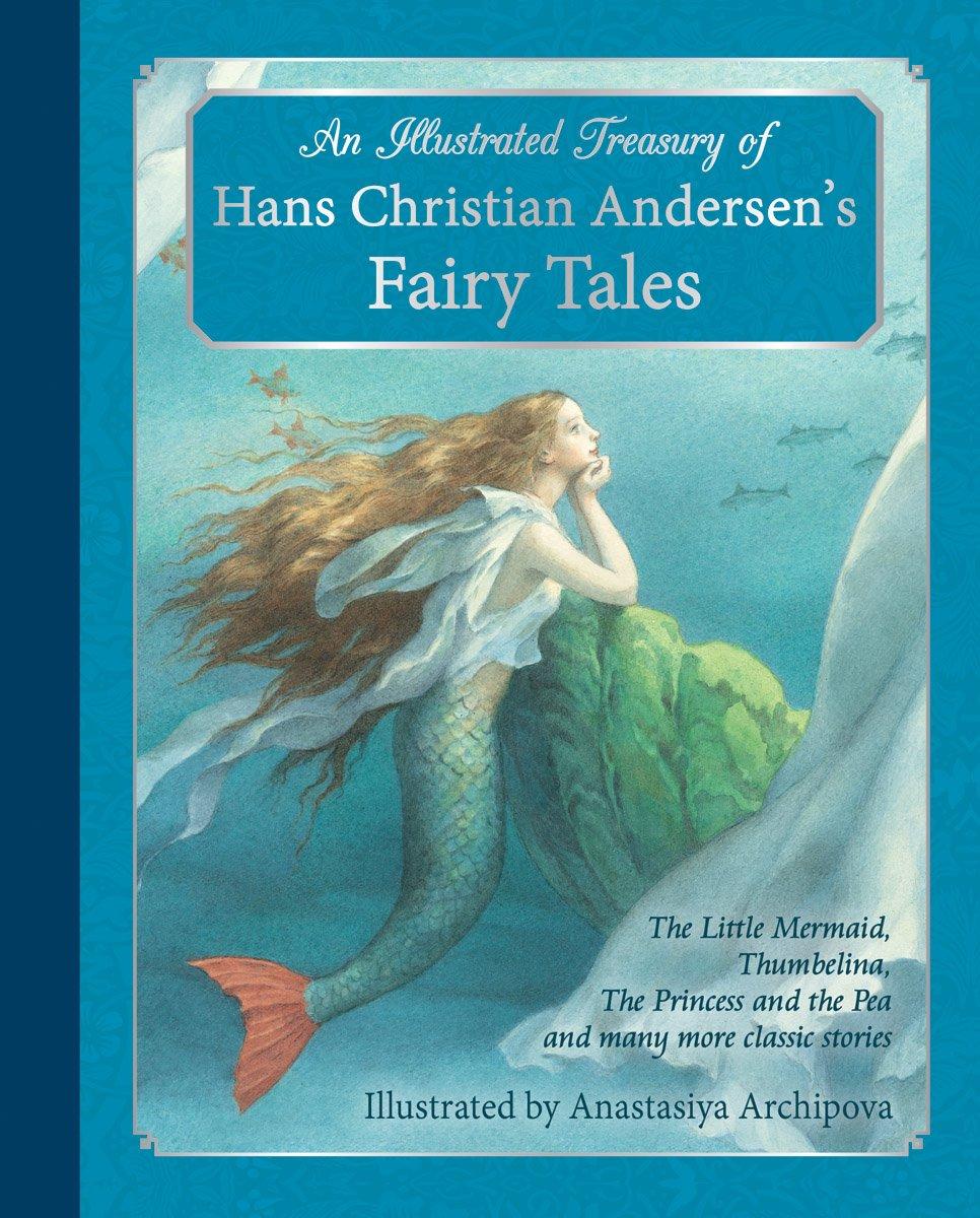 bìa sách tiên cá andersen