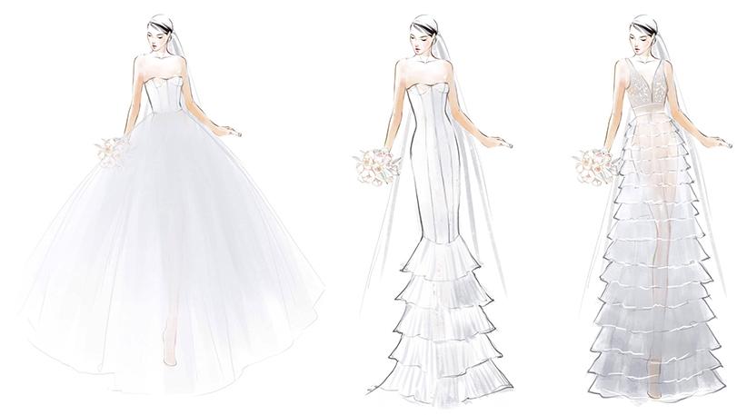 váy cưới Lý Quý Khánh - quà cưới từ GEM Center