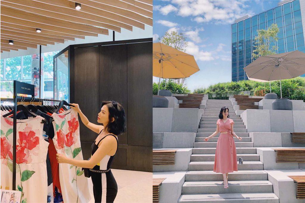 Sĩ Thanh dịu dàng và sang trọng ơ rkhu thời trang thiết kế Design Orchard