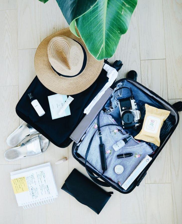 cách xếp hành lí khi đi du lịch