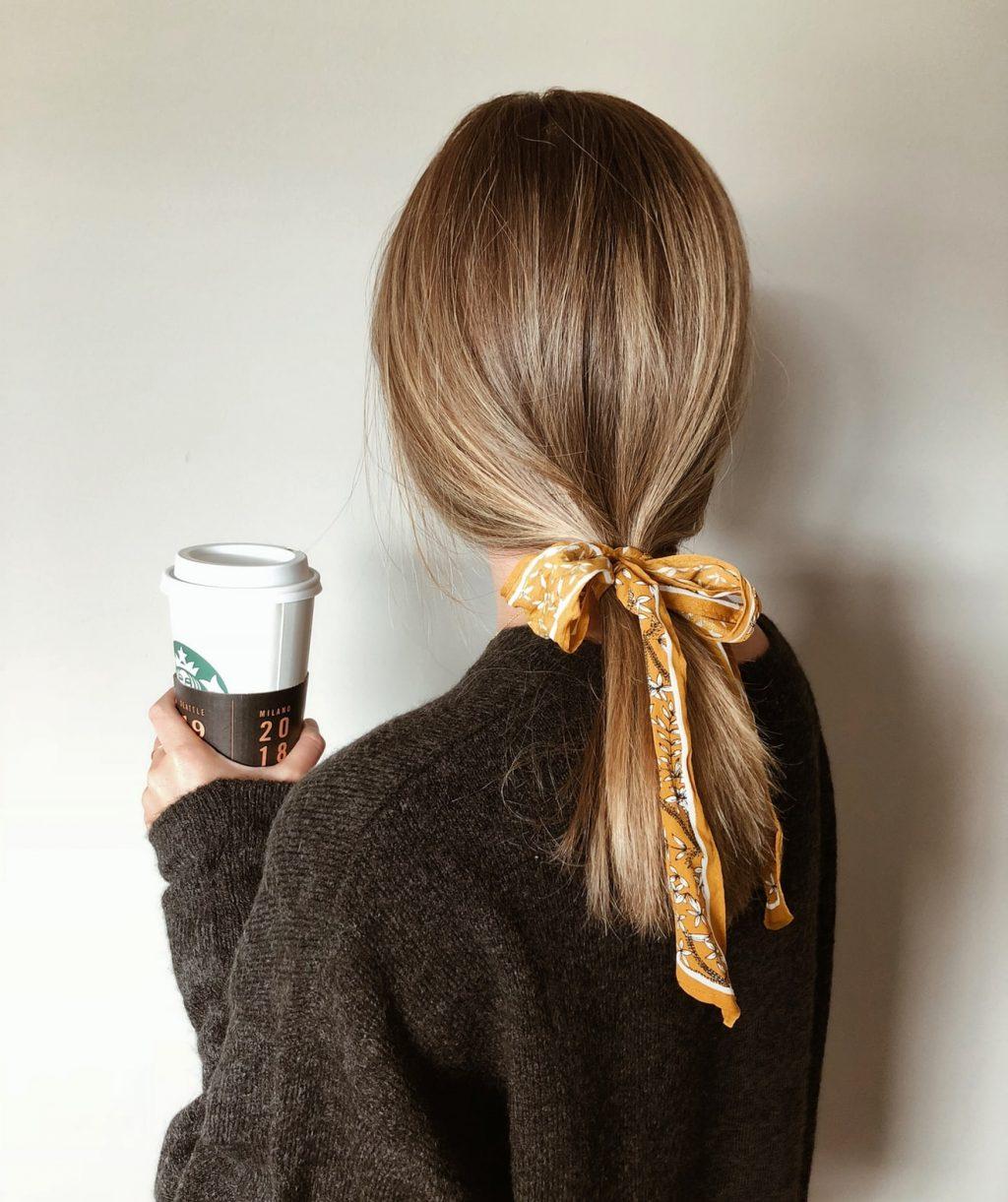 buộc tóc làm đẹp nhanh
