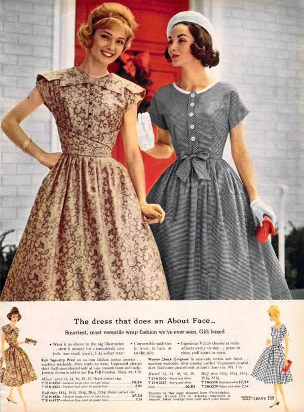 Phong cách vintage những năm 1950s