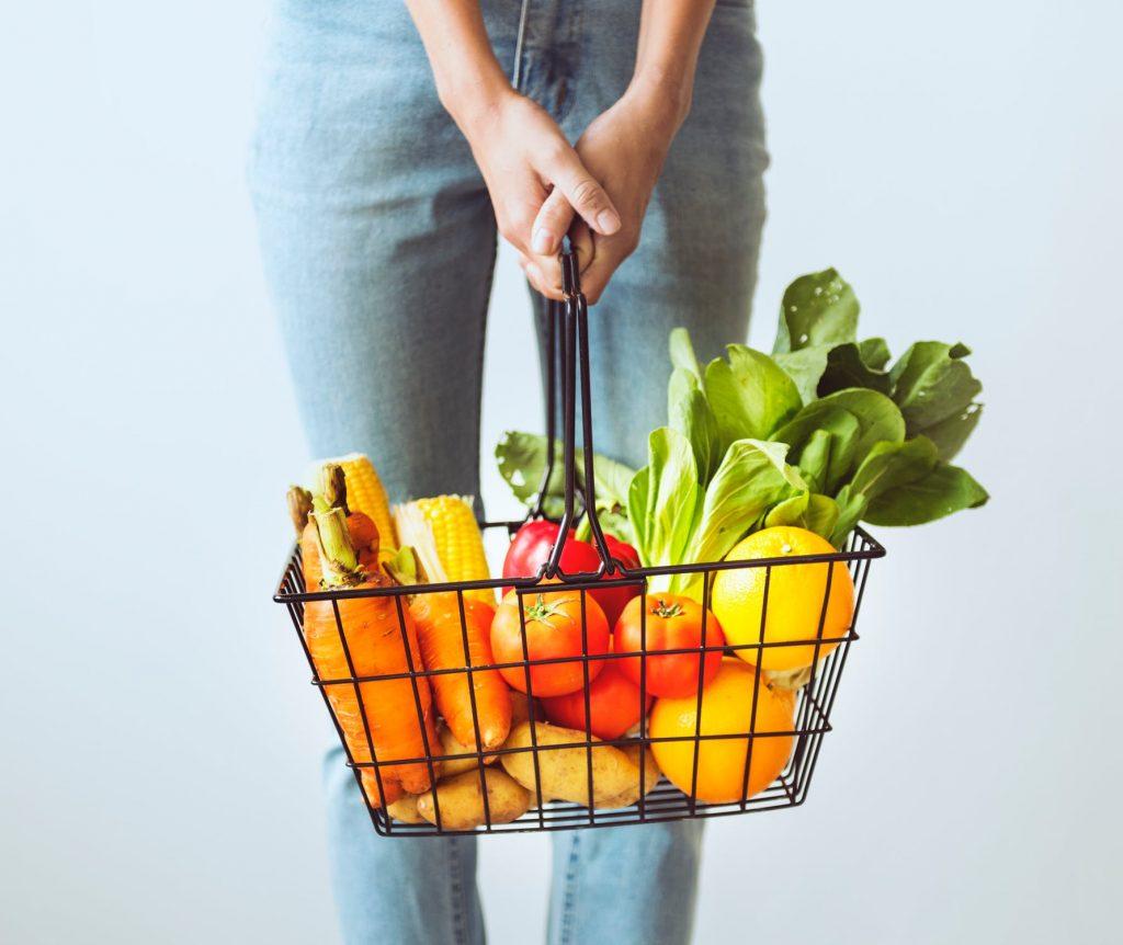 rau chế độ ăn uống