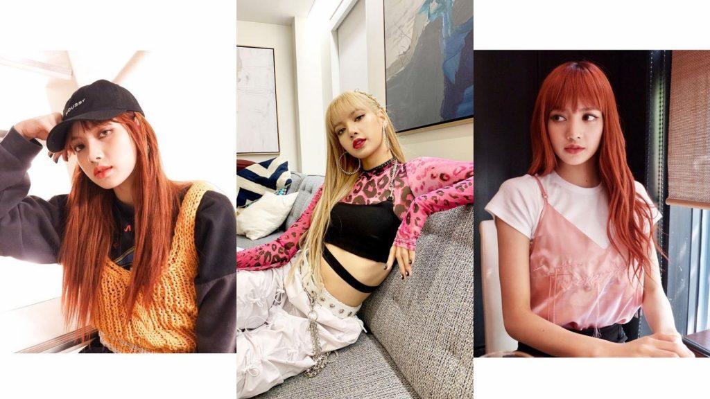 Thời trang của lisa blackpink cùng bản phối áo dây đa dạng