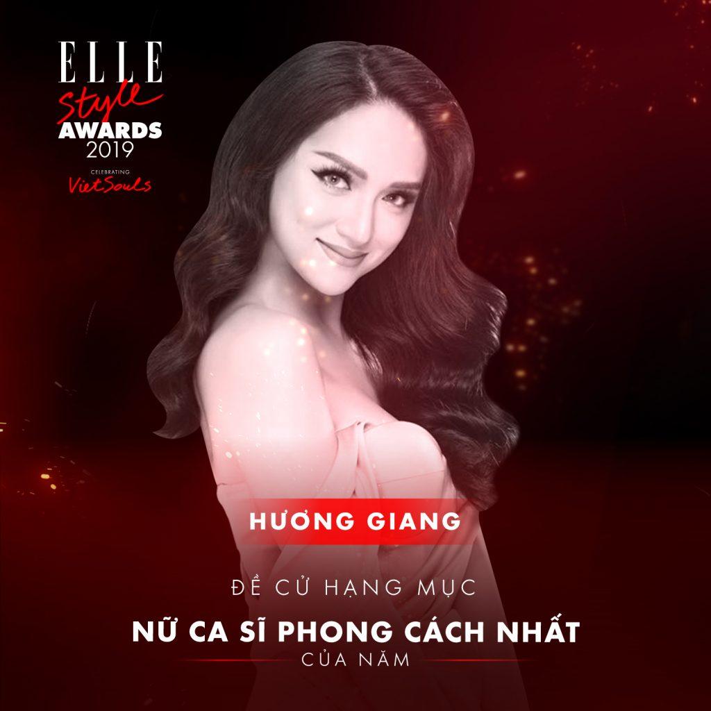 ELLE STYLE AWARDS 2019 - HươngGiang