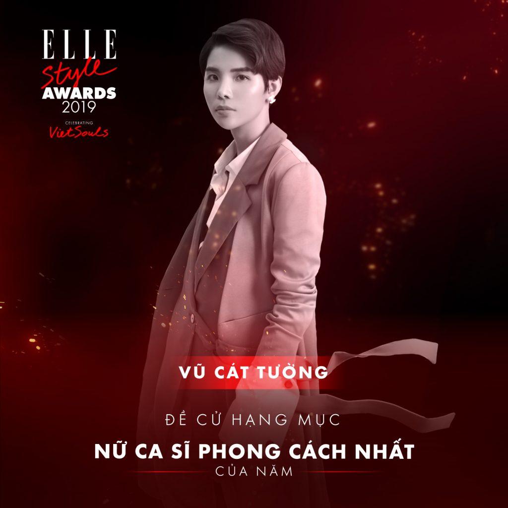 ELLE STYLE AWARDS 2019 - VũCátTường