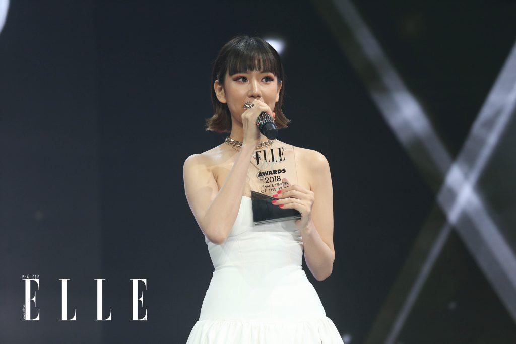 ELLE STYLE AWARDS 2019 - ca sĩ Min 03
