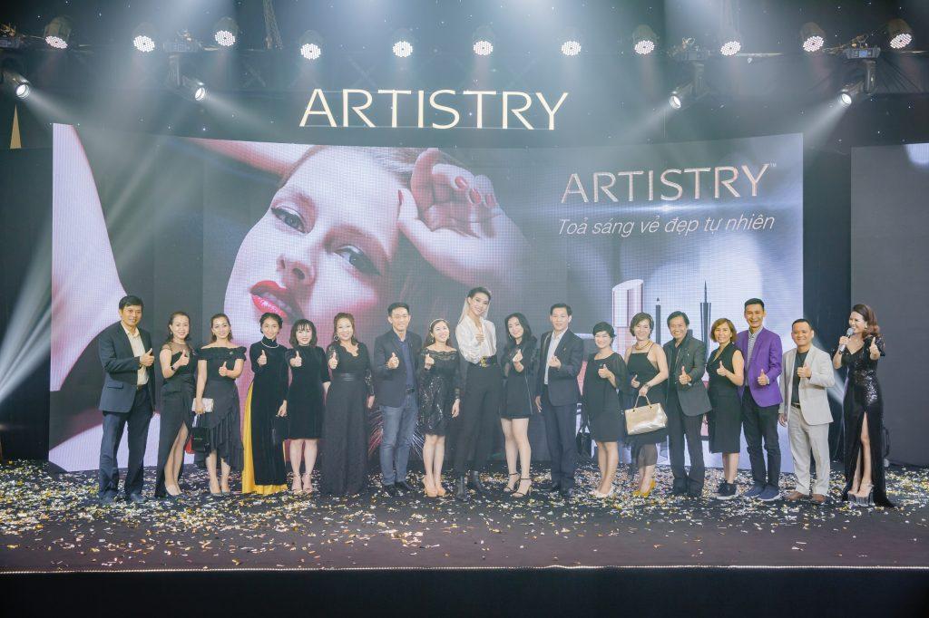 khách mời tham gia sự kiện Artistry