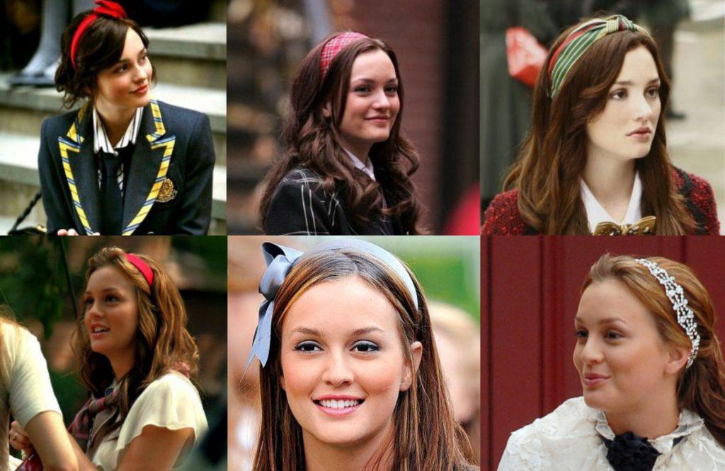 Blair diện những chiếc headband thương hiệu - thời trang trong phim Gossip Girls