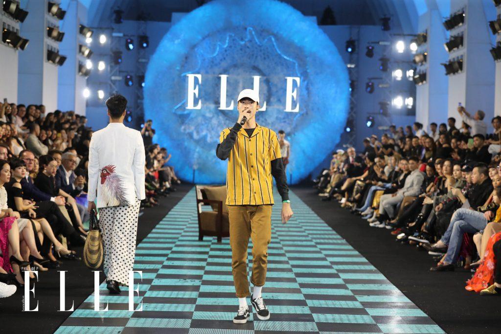 Đen Vâu trình diễn tại ELLE Fashion Show 2018