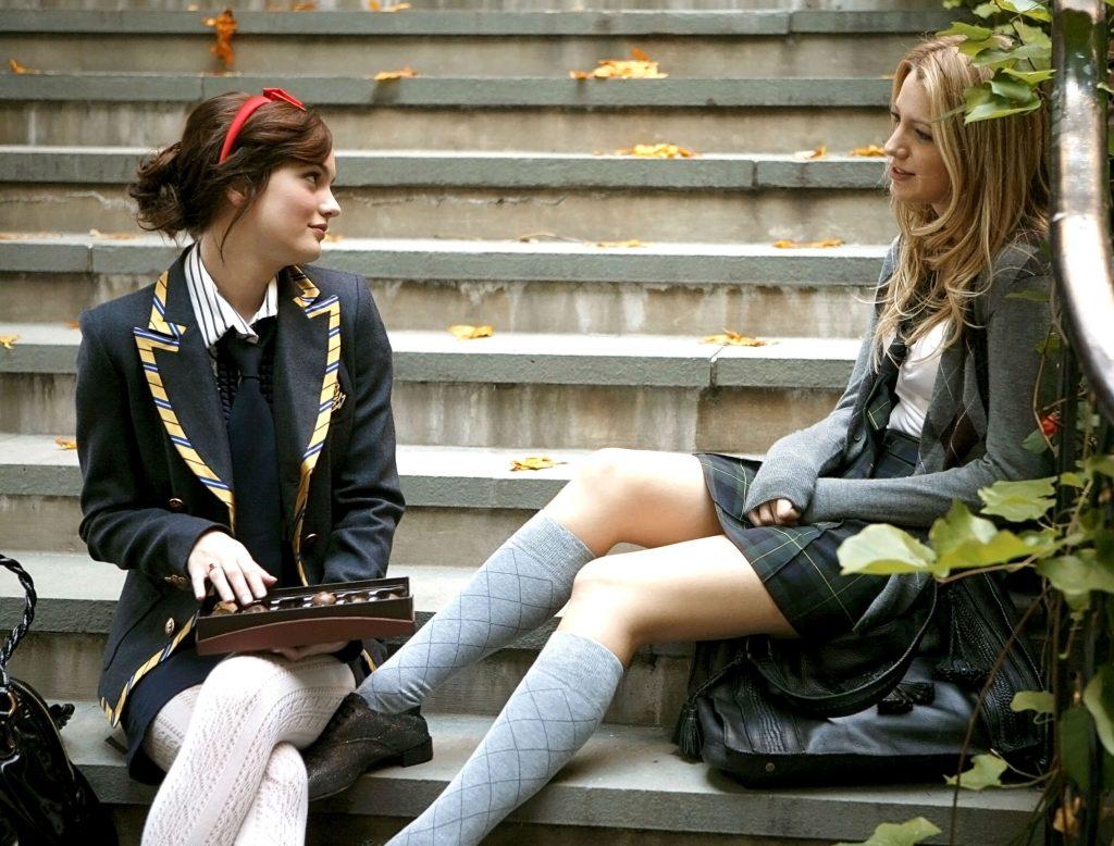 Thiết kế đồng phục học sinh trong phim Gossip Girls