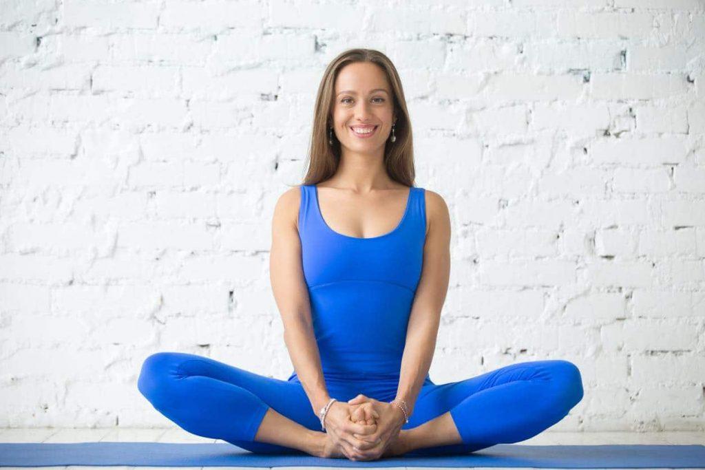 bài tập yoga - tư thế con bướm