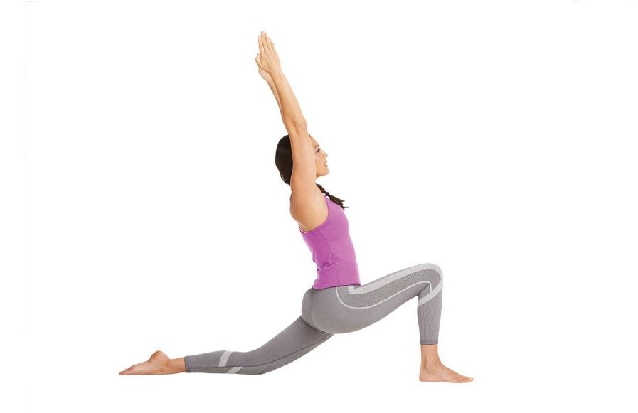bài tập yoga - tư thế lưỡi liềm