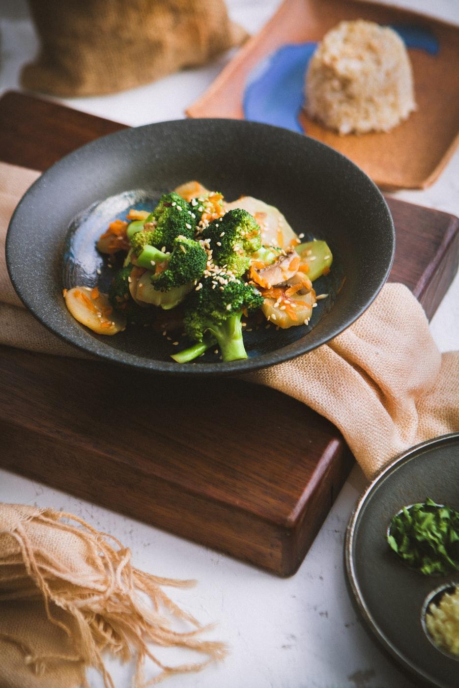bông cải thực đơn ăn uống