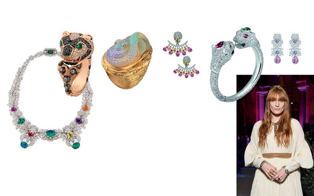 bộ sưu tập trang sức cao cấp Gucci