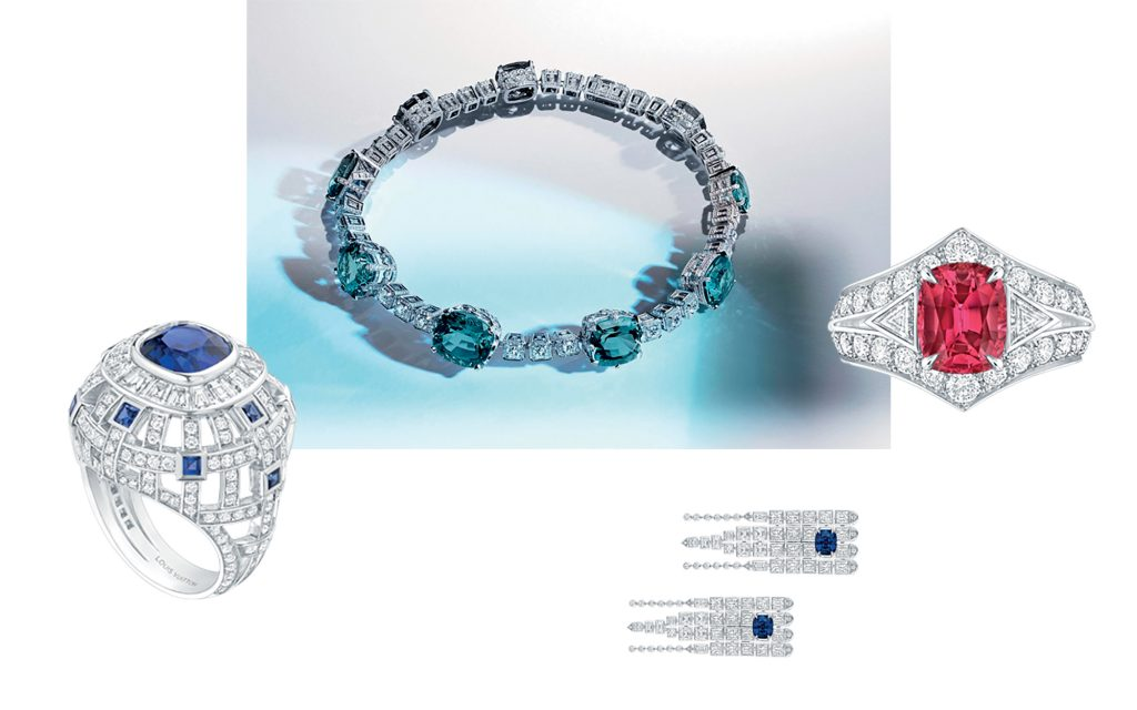 bộ sưu tập trang sức cao cấp Louis Vuitton