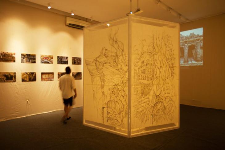 triển lãm nghệ thuật về huế