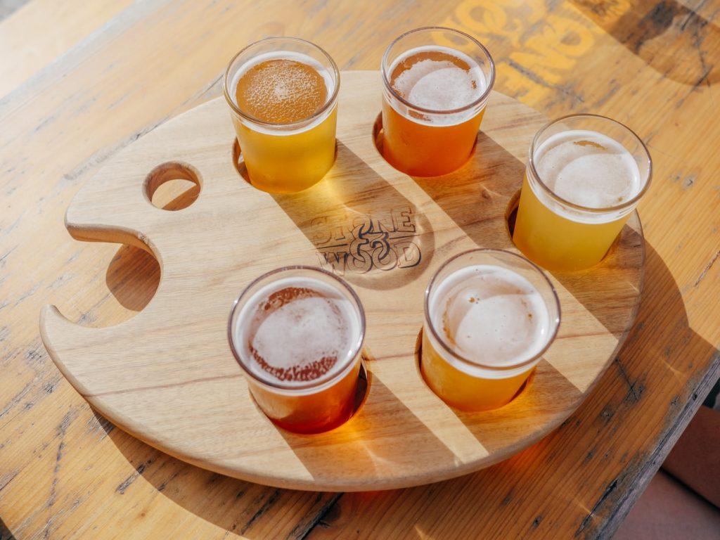 giảm cân - các ly bia