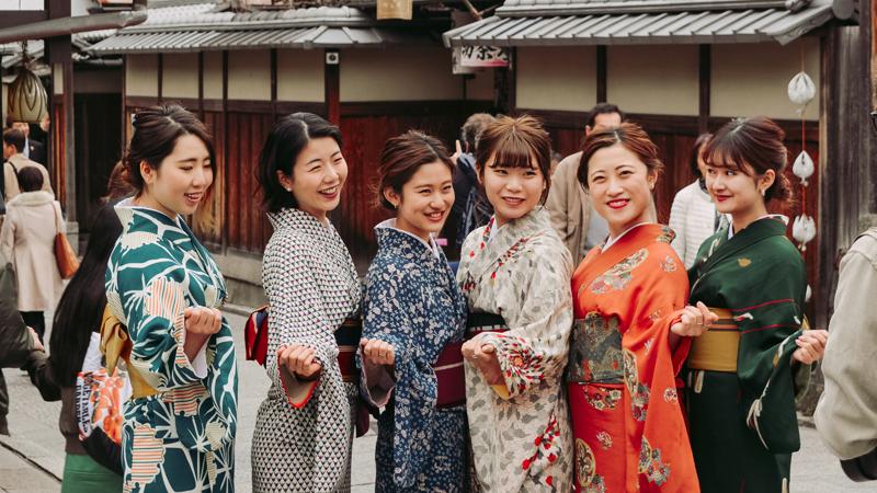 Phụ nữ Nhật Bản và quy trình dưỡng da từ bao đời nay. Ảnh: Unsplash.