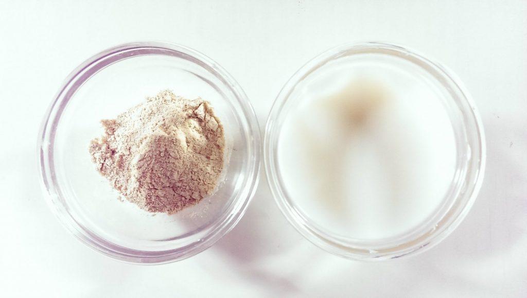 làm đẹp da bằng mặt nạ cám gạo và sữa tươi