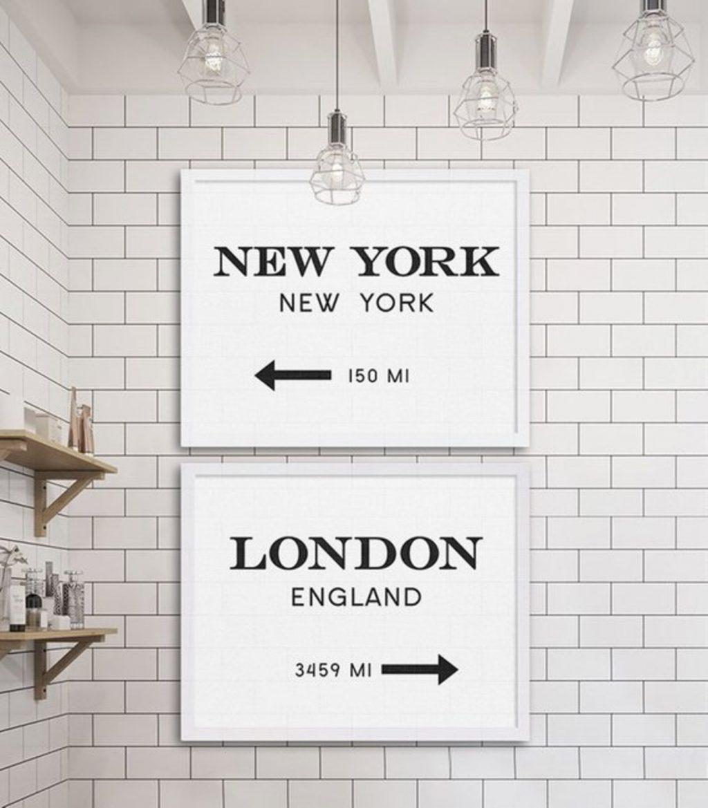 Thời trang trên sàn diễn của hai kinh đô thời trang Anh - Mỹ