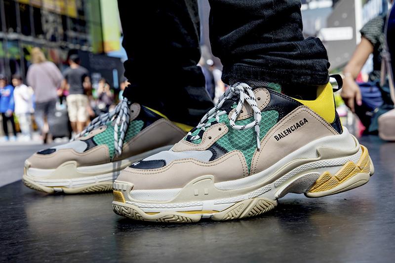 giày sneaker Balenciaga Triple S