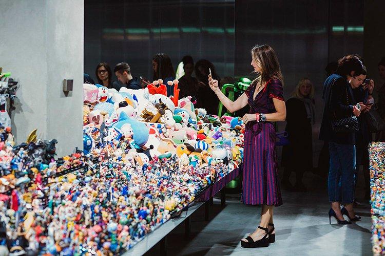trưng bày bộ sưu tập của Takashi Murakami