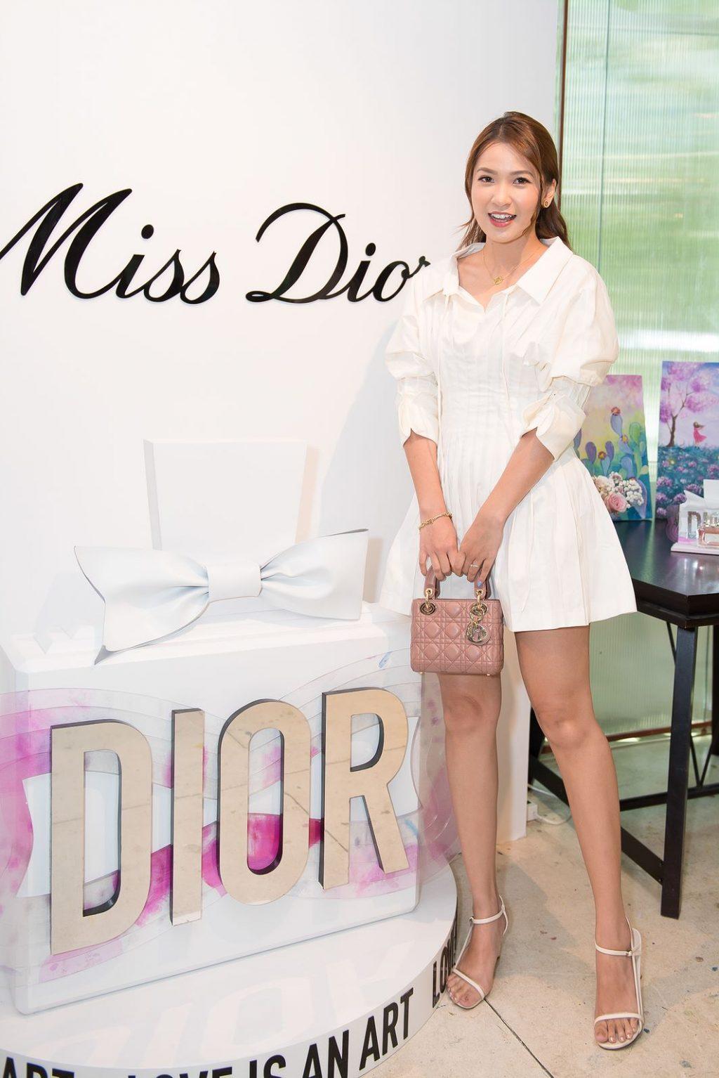 linh trương Miss Dior