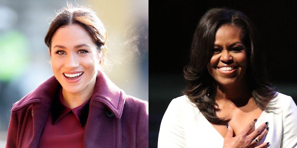 nữ công tước meghan markle và michelle obama