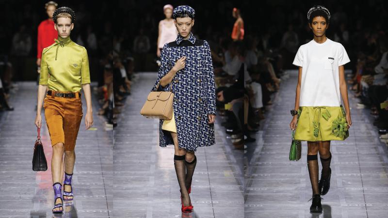 BST Xuân- Hè 2019 của thương hiệu thời trang Prada.