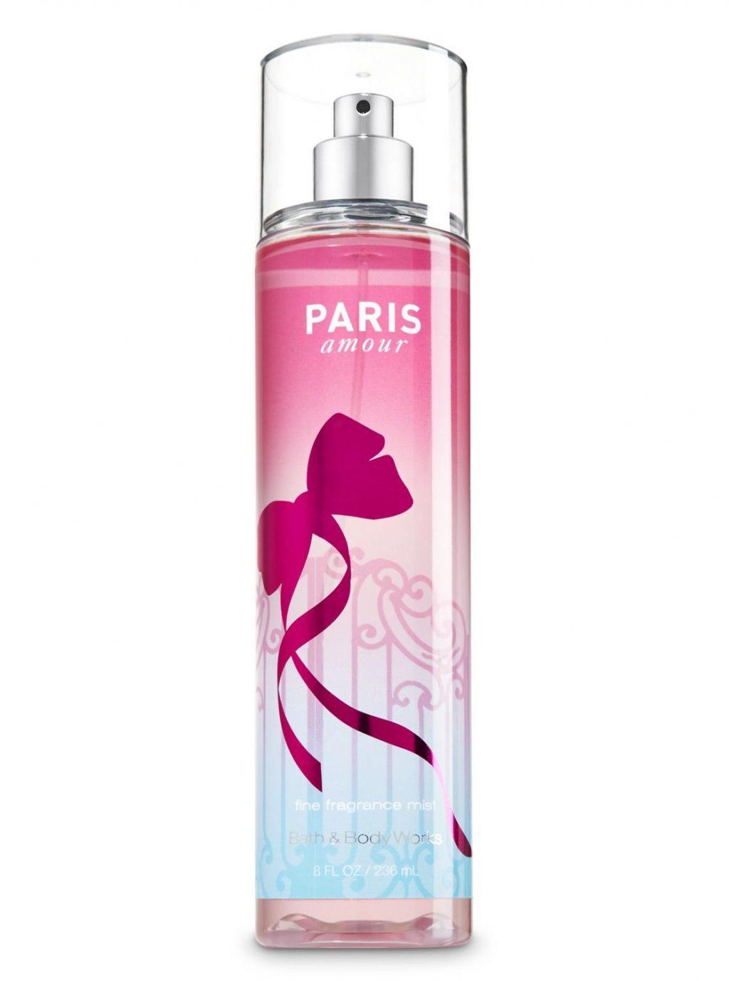 xịt thơm toàn thân Bath & Body Works Paris Amour