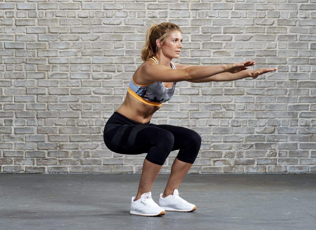 squat bài tập hông