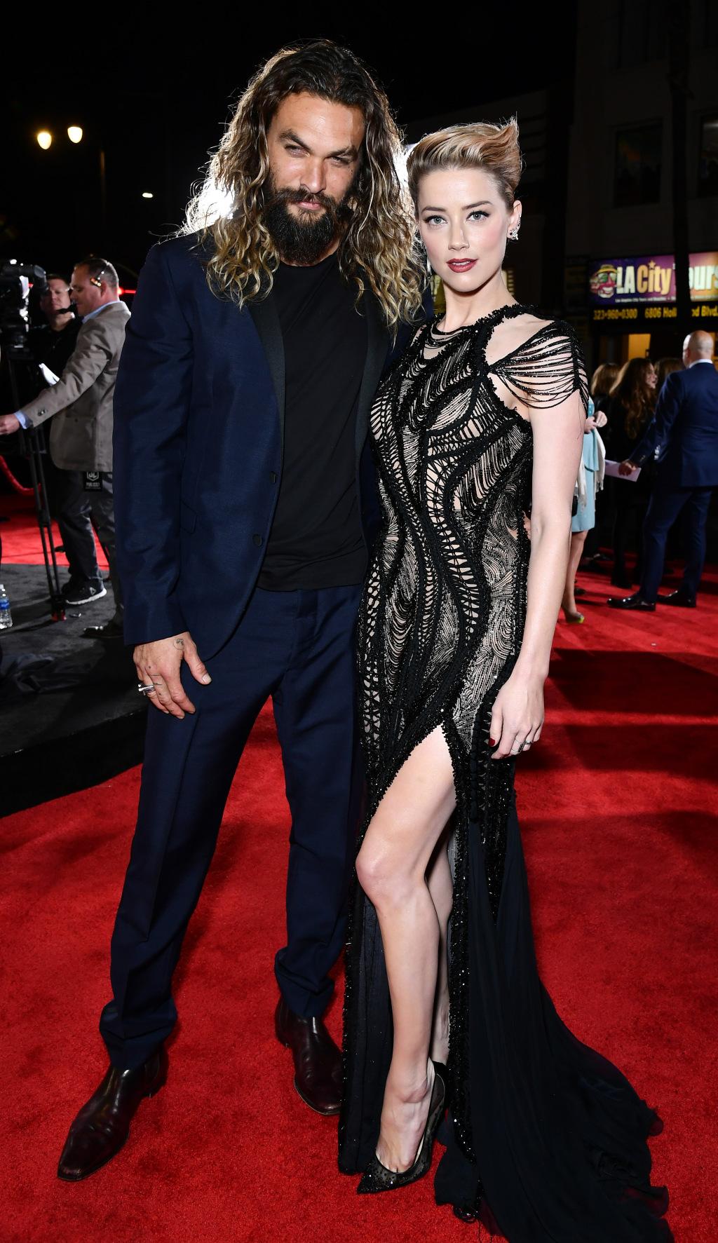 Jason Momoa va Amber Heard