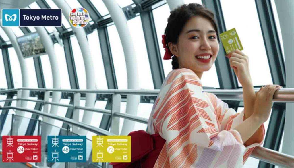 Mẫn Tiên và thẻ Metro Tokyo