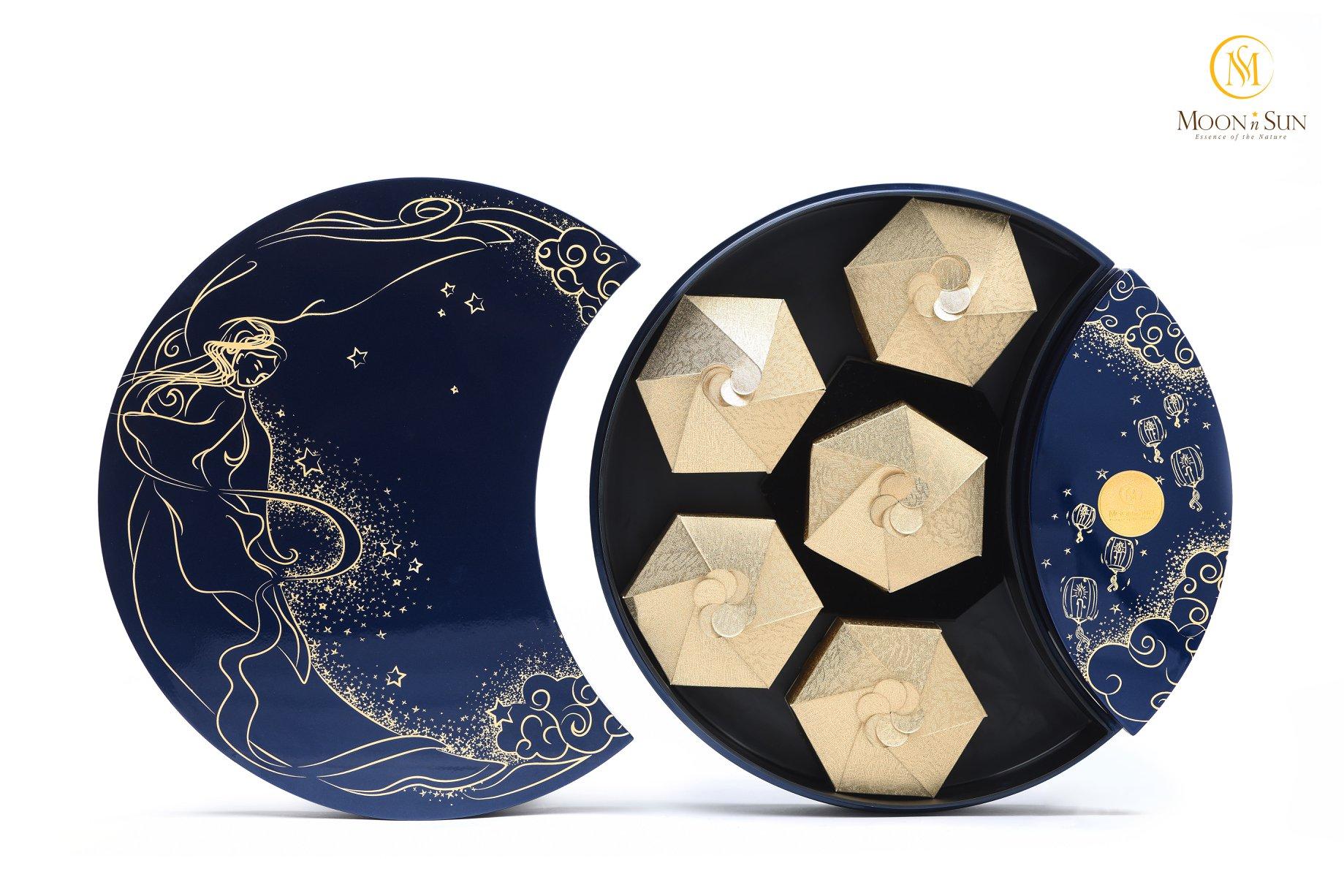 """Một mẫu bánh trong Bộ sưu tập""""Ánh trăng mùa vàng"""" của MnS dành cho mùa Trung thu 2019"""
