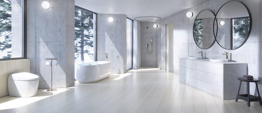 phòng tắm toto cho gia đình 3