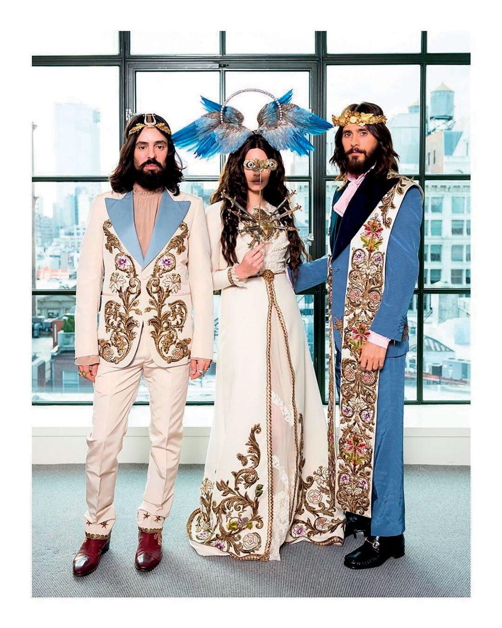 phong cách thời trang gucci ở met gala