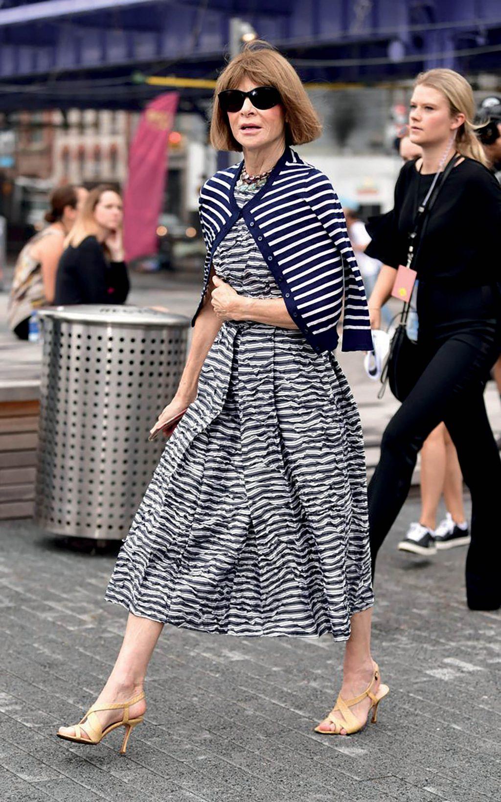 phong cách thời trang của anna wintour
