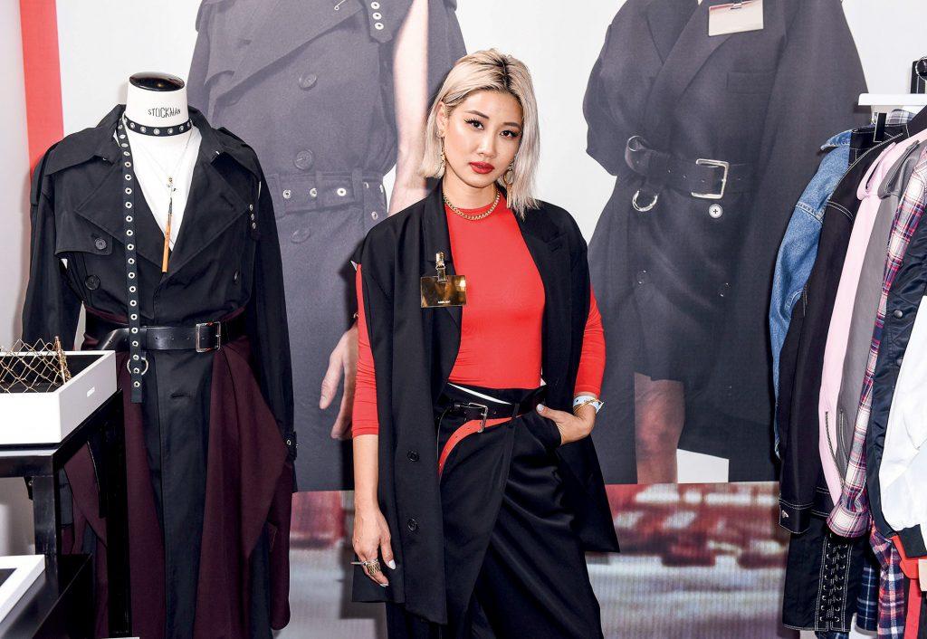 phong cách thời trang của Yoon Ahn
