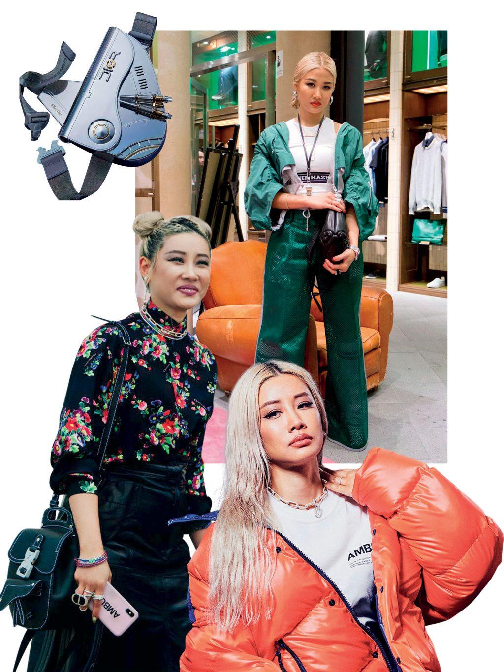 phong cách thời trang của Yoon Ahn 2