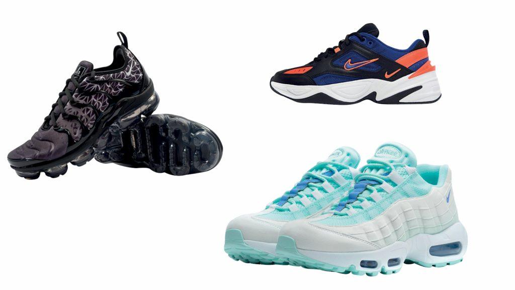 kiểu giày sneakers nike