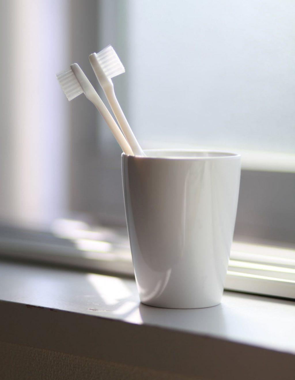 chăm sóc răng miệng bằng bàn chải